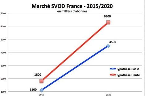 Quelle est la taille réelle du marché français de la SVOD ? | Informatique Professionnelle | Scoop.it