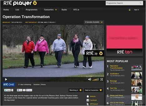 RTÉ Player is Ireland's most popular Video on Demand (VOD) service with weekly use growing by 55% since 2011. | RTÉ Digital Blog | Positive Ireland | Scoop.it