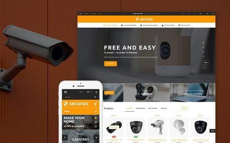 Securax - Security System Responsive Prestashop Theme   platinastudio   Scoop.it