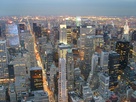New York, de l'Empire State.   New York et Paris - Capitales.   Scoop.it