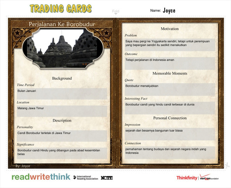 Trading Cards | Digital Storytelling Tools, Apps and Ideas | Scoop.it