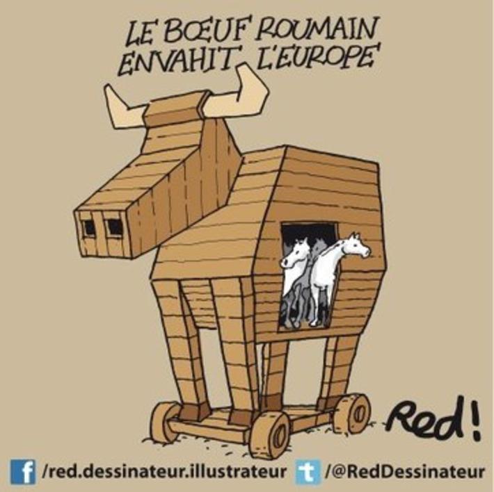 Le Boeuf Roumain envahit l'Europe   Baie d'humour   Scoop.it