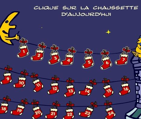 Le calendrier de l'Avent | FLE - enfants - Noël | Scoop.it