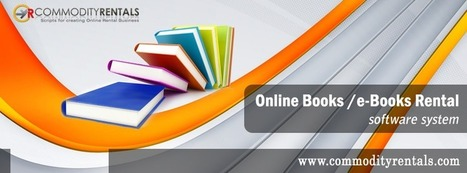 Book Rental Management Script for Online Busines | CommodityRentals | Scoop.it