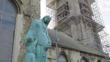 Escaudain : le monument aux morts où se donnent rendez-vous les ... - La Voix du Nord | monument aux morts 14-18 | Scoop.it
