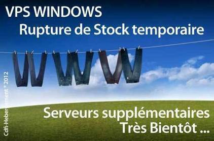 Cdfi-Hebergement - Vps Windows Bientot de Retour | Le Fil Infos - Cdfi-Hebergement | Scoop.it