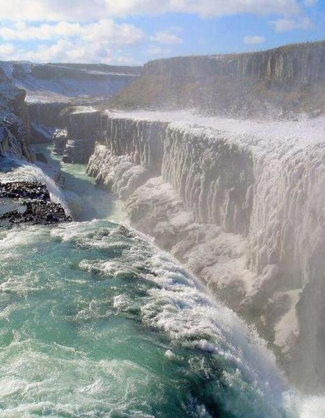 Twitter / DiscoveryImages: Gullfoss Waterfall, Iceland ... | Waterfalls | Scoop.it