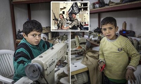 EXCLUSIVE - 'Child slaves' making uniforms for Isis | Islamism | Scoop.it