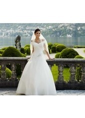 Ball Gown As Picture Floor Length Organza Ivory Wedding Dress H1ly0037 for $923 | Landybridal 2014 wedding dress | Scoop.it