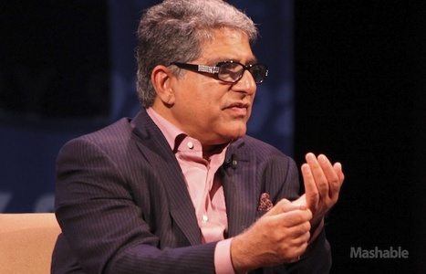 Deepak Chopra: Social Media is the Next Phase of Humanity [VIDEO] | The Asymptotic Leap | Scoop.it