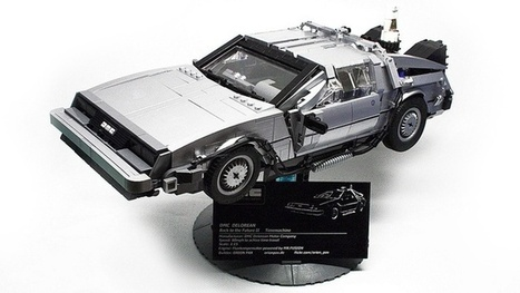 This Magnificent Lego BTTF DeLorean Deserves Its Own Scale Museum | D_sign | Scoop.it