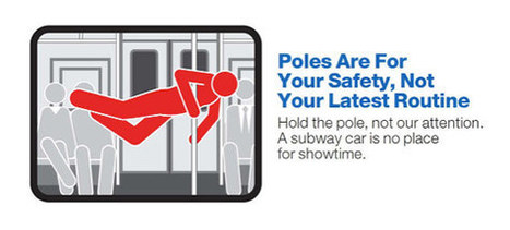 Mind the Gap (and Your Manners): New York's Winking MTA Courtesy Campaign | FutureSocial | Scoop.it
