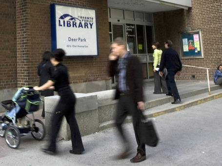 Date-due slips at Toronto libraries may soon feature ads | Posted Toronto | National Post | The Information Professional | Scoop.it