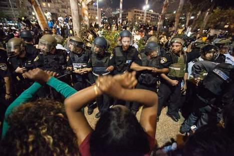 Ethiopian Israelis Protest Over Police Abuse | Criminology and Economic Theory | Scoop.it