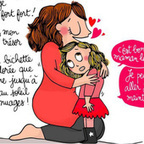 18 adorables dessins qui illustrent avec humour la relation entre une maman et ses enfants | La bande dessinée FLE | Scoop.it