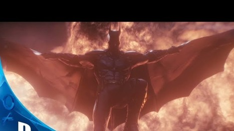 Here's The First Trailer For Batman: Arkham Knight | GamesUP.ch | Scoop.it