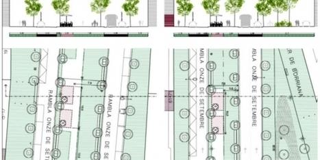 Terrasses arrenglerades a Fabra i Puig i Onze de Setembre | #territori | Scoop.it