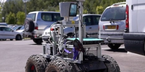 Un robot à l'épreuve des chocs | Adream | Scoop.it