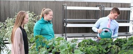 Greenhouse enriches learning experience at Blair High School   Nebraska Public School Advantage - The power of public education.   Capstone: An ESRM Coda   Scoop.it