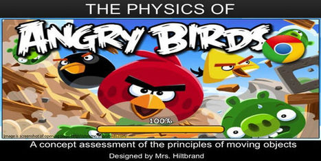 Educade   Lesson Plans   PHYSICS OF ANGRY BIRDS   Educational Resources   Scoop.it