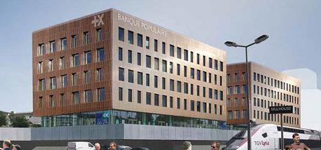 Un nouvel ensemble tertiaire sort de terre à Mulhouse | Urbanisme et Aménagement | Scoop.it