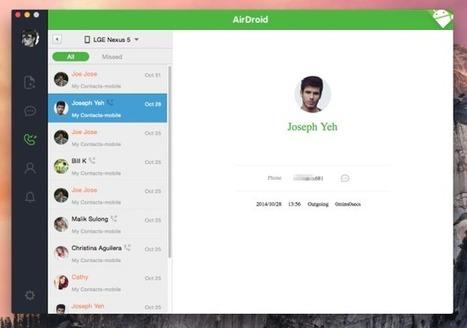 AirDroid : une nouvelle version avec un client desktop avant la fin de l'année | Entrepreneurs du Web | Scoop.it