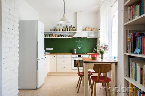 Svoj prvý byt si zariadili za rozumnú cenu bez toho, aby mu to ubralo z atmosféry   domov.kormidlo.sk   Scoop.it
