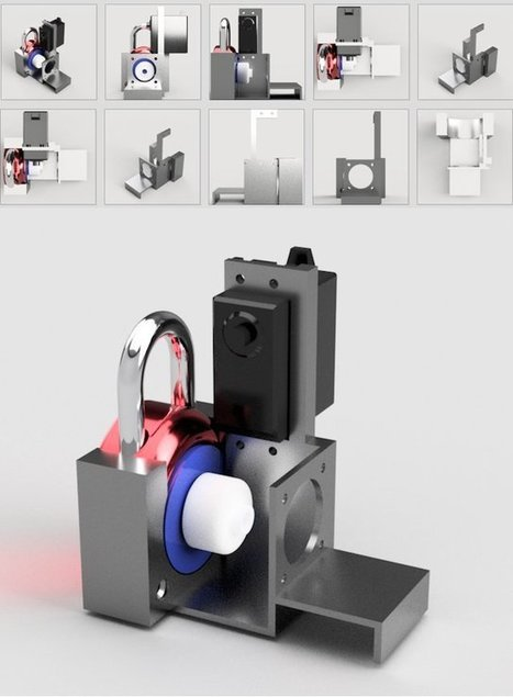 DIY Lock Cracker: 3D Print Your Own Device to Open Any Master Lock - 3DPrint.com | Raspberry Pi | Scoop.it