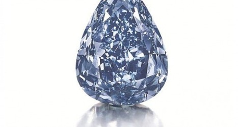 World's Largest Flawless Vivid Blue Diamond May Sell for $25M - American Hard Assets | Auctions and Collectibles | Scoop.it