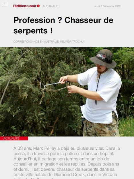 Profession? Chasseur de serpents! | RH EMERAUDE | Scoop.it