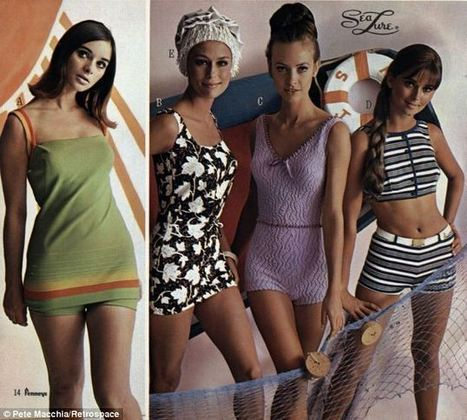 Boy shorts, bathing caps and no visible bikini lines | Vintage and Retro Style | Scoop.it
