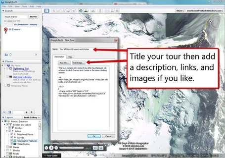 How to create placemarks and tours in Google Earth | formation 2.0 | Scoop.it