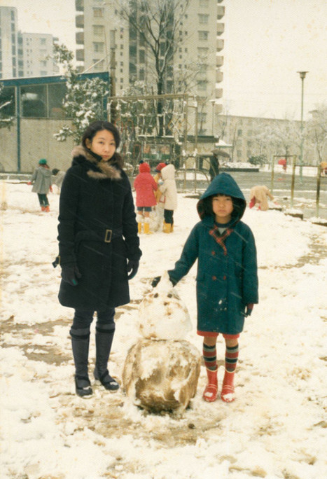 Imagine Finding Me | Chino Otsuka Superimposes Her Adult Self Into Childhood Photos | Spoon & Tamago | Hauntology | Scoop.it