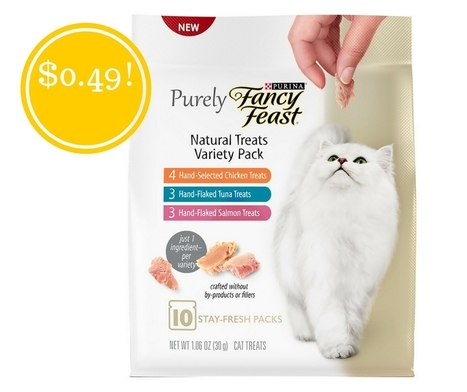 Target: Fancy Feast Purely Cat Treats Only $0.49 | Grocery List Savings | Scoop.it