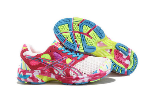 Womens Asics Gel Noosa TRI 7 White Red Shoes | want and share | Scoop.it
