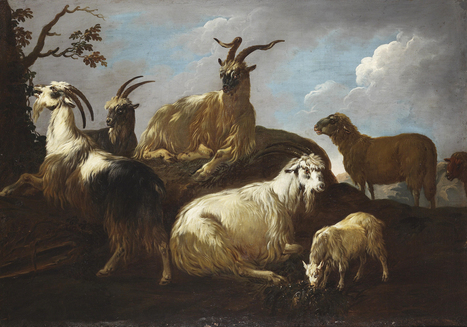 Philipp Peter Roos (surnamed Rosa di Tivoli)<br/>-Art UK - | Artistes d'hier, ma&icirc;tres d'autrefois... | Scoop.it