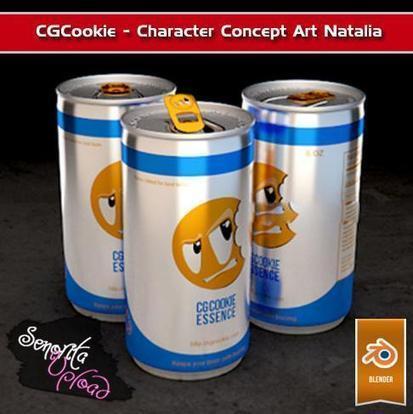 CGCookie - Rendering a Drink Can in Blender with Cycles Free Download eBook PDF ePub mobi   Blender 3D graphics Tutorial   Scoop.it