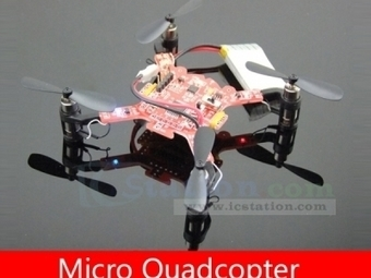 Micro Quadcopter HM Model Aircraft Aeromodelling for Android - Robot - Arduino, 3D Printing, Robotics, Raspberry Pi, Wearable, LED, development boardICStation | Robot & Parts | Scoop.it