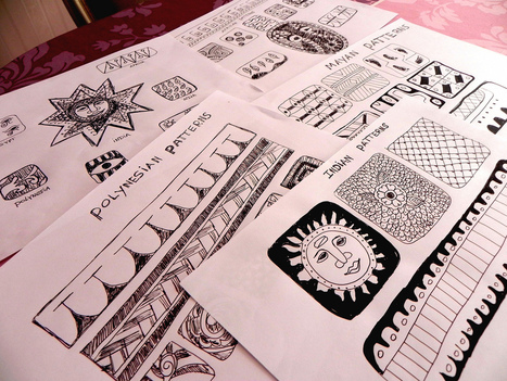 Visual Mapping: Drawing, Creativity and Pattern Recognition   Art of Hosting   Scoop.it