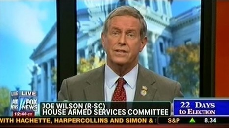 Joe 'You Lie' Wilson: Calling Romney a liar is wrong because 'it's not spontaneous' | Daily Crew | Scoop.it