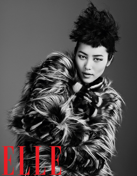 Liu Wen Models Fall Looks for Elle China's September Issue | All things China | Scoop.it