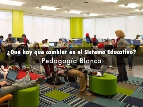¿Qué hay que cambiar en el Sistema Educativo? | Pedagogía Blanca | Educación, innovación, cambios y reflexiones. | Scoop.it