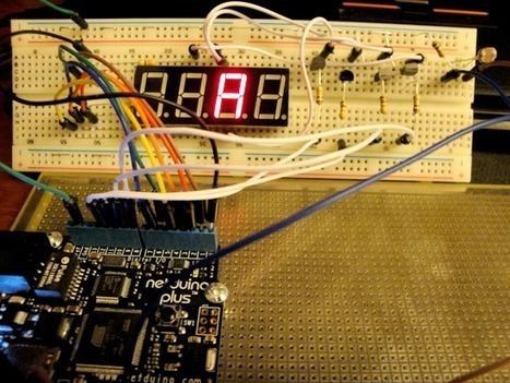Netduino Day 3 – Multiplexed Seven-Segment LED displays :Embedded Lab | Arduino progz | Scoop.it
