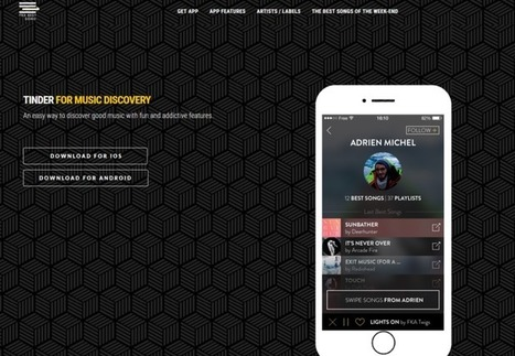 Application : les 5 meilleurs services musicaux du moment | MUSIC:ENTER | Scoop.it