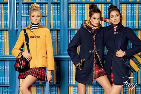 FAY: explore the preppy style | Le Marche & Fashion | Scoop.it