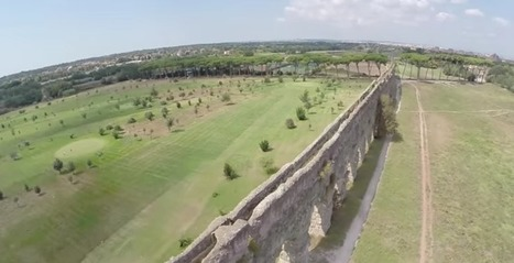 Riprese aeree dell'Acquedotto Appio Claudio - VIDEO | LVDVS CHIRONIS 3.0 | Scoop.it