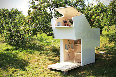 A Minimalist Cabin That's Completely Mobile | PROYECTO ESPACIOS | Scoop.it