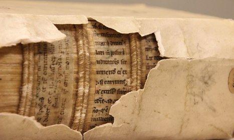 Des rayons X pour révéler les textes cachés dans les reliures des livres | Patrimoine culturel - Revue du web | Scoop.it