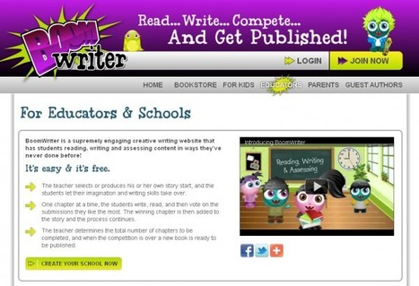 BoomWriter – impulsa la creatividad de tus estudiantes | antoniorrubio | Scoop.it