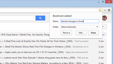 Bookmark Gmail Searches For Easy Email Reference   Matt's Ed Tech   Scoop.it